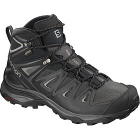 Salomon W's X Ultra 3 Mid GTX Shoes Magnet/Black/Monument